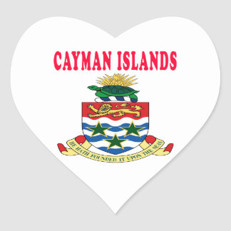 Cayman Islands Coat Of Arms Designs Stickers