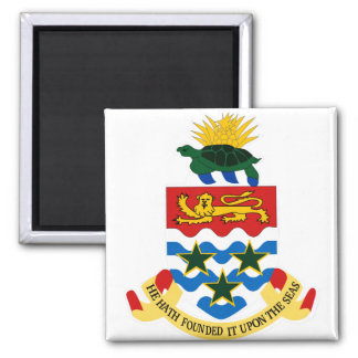 Cayman Islands Coat of Arms detail Refrigerator Magnets
