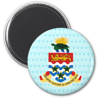 Cayman Islands Coat of Arms detail Refrigerator Magnet