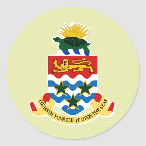 Cayman Islands Coat of Arms detail Stickers