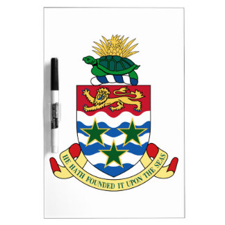 Cayman Islands Coat of Arms Dry-Erase Whiteboard