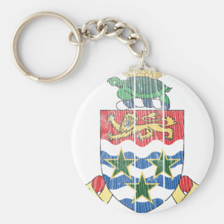 Cayman Islands Coat Of Arms Keychain