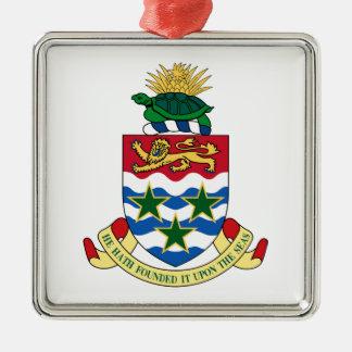 Cayman Islands Coat of Arms Metal Ornament