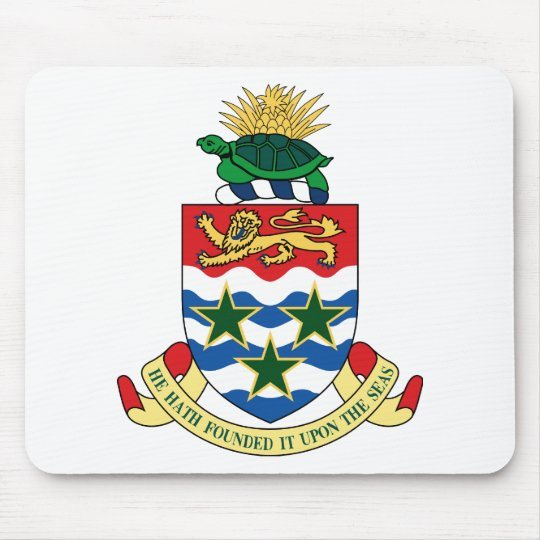 Cayman Islands Coat Of Arms Mouse Pad
