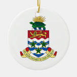 Cayman Islands Coat of Arms Christmas Tree Ornaments