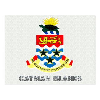 Cayman Islands Coat of Arms Post Card