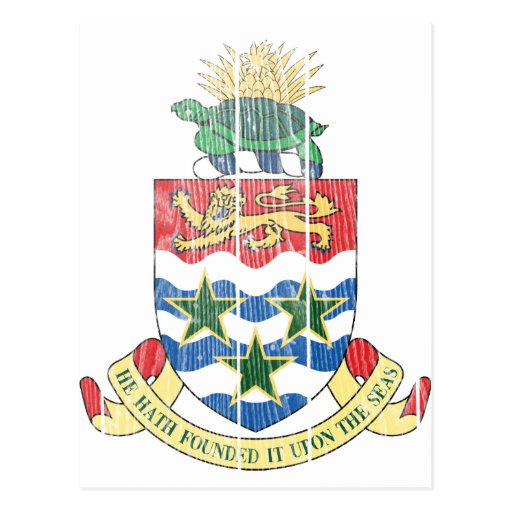 Cayman Islands Coat Of Arms Post Cards