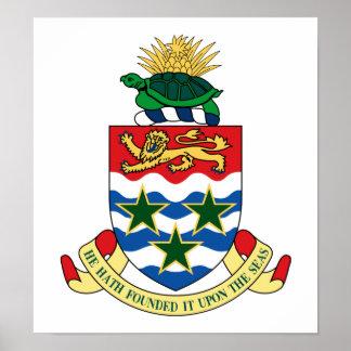 Cayman Islands Coat Of Arms Print