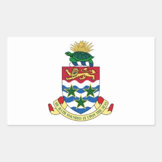 Cayman Islands Coat of Arms Rectangular Sticker