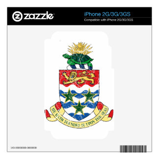 Cayman Islands Coat Of Arms Skin For iPhone 3GS