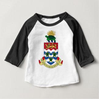 Cayman Islands Emblem Coat of Arms Baby T-Shirt