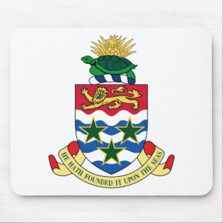Cayman Islands Emblem Coat of Arms Mouse Pad