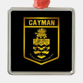 Cayman Islands Emblem Metal Ornament