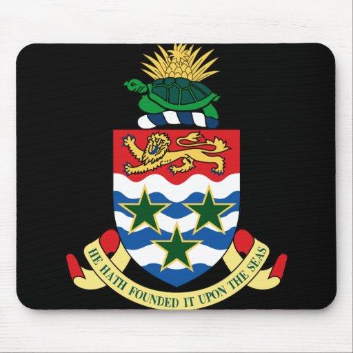 cayman islands emblem mousepads