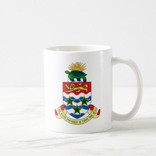 cayman islands emblem coffee mug