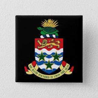 cayman islands emblem pinback button