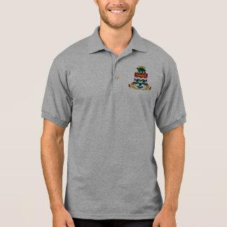 cayman islands emblem polo shirt