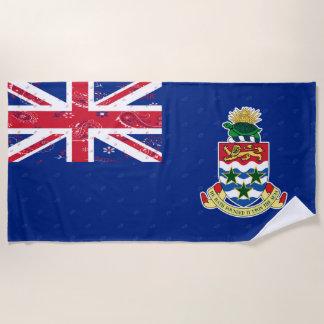 Cayman Islands Flag Beach Towel