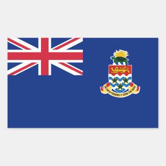 Cayman Islands Flag. Britain, British Overseas Rectangular Sticker
