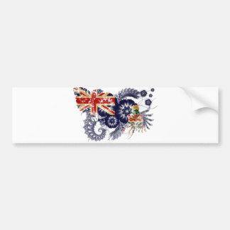 Cayman Islands Flag Bumper Sticker