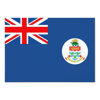 Cayman Islands Flag Card