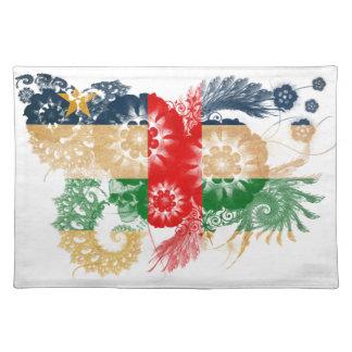 Cayman Islands Flag Cloth Placemat