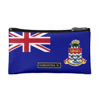 Cayman Islands Flag Cosmetic Bag