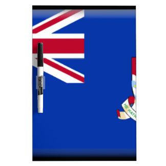 Cayman Islands Flag Dry-Erase Whiteboard