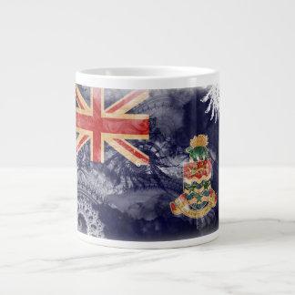 Cayman Islands Flag Giant Coffee Mug