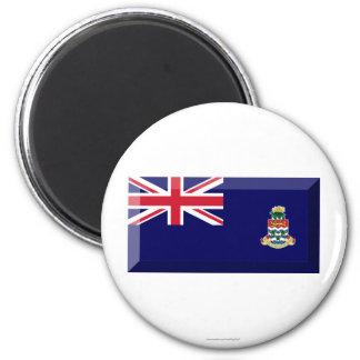 Cayman Islands Flag Jewel Magnets