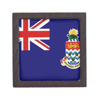 Cayman Islands Flag Jewelry Box