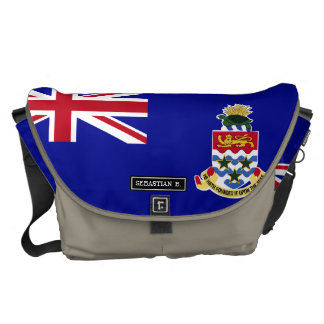 Cayman Islands Flag Messenger Bag