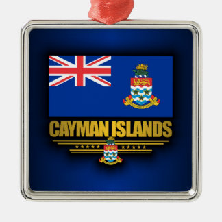 Cayman Islands Flag Metal Ornament