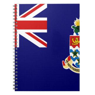 Cayman Islands Flag Notebook