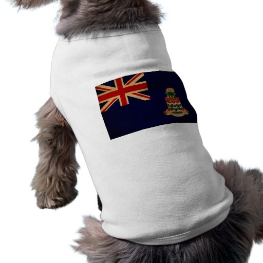Cayman Islands Flag Pet Tshirt
