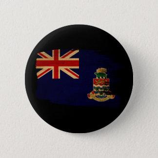 Cayman Islands Flag Pinback Button