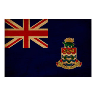 Cayman Islands Flag Poster