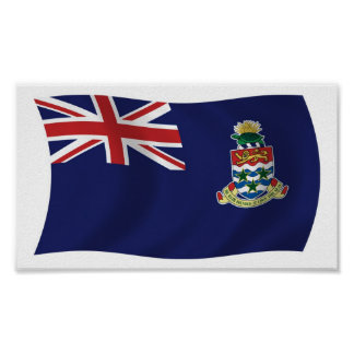 Cayman Islands Flag Poster Print