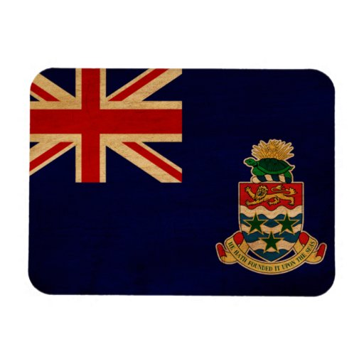 Cayman Islands Flag Rectangle Magnets