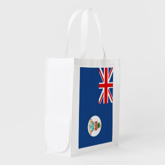 Cayman Islands Flag Reusable Grocery Bag