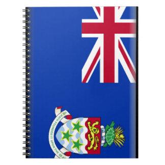 Cayman Islands Flag Spiral Notebook