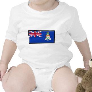 Cayman Islands Flag Baby Bodysuits