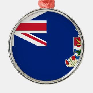 Cayman Islands Flag - Union Jack Metal Ornament