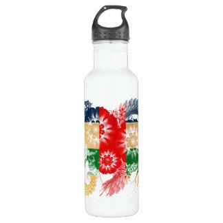 Cayman Islands Flag Water Bottle