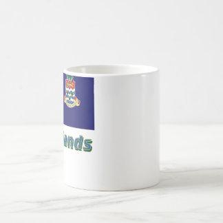 Cayman Islands Flag with Name Coffee Mug