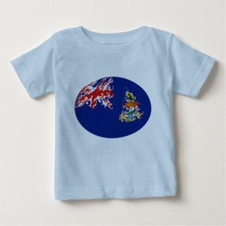 Cayman Islands Gnarly Flag T-Shirt