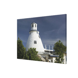 CAYMAN ISLANDS, GRAND CAYMAN, Frank Sound: Old Canvas Print