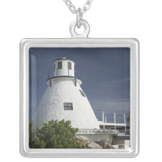 CAYMAN ISLANDS, GRAND CAYMAN, Frank Sound: Old Silver Plated Necklace