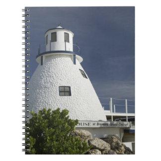 CAYMAN ISLANDS, GRAND CAYMAN, Frank Sound: Old Spiral Notebook