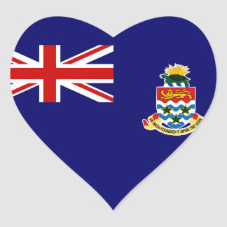 cayman islands heart sticker